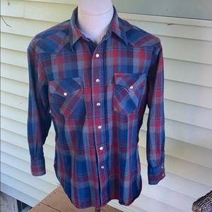 Pendleton wool flannel. Men's size large.